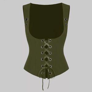 2/$25 NWOT corset vest